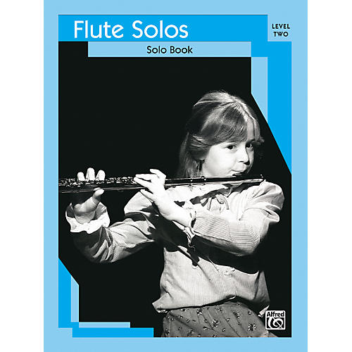 Alfred Flute Solos Level II Solo Book thumbnail