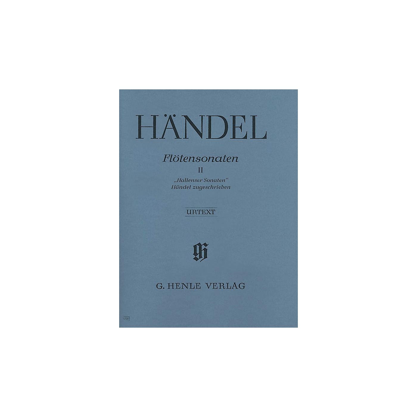 G. Henle Verlag Flute Sonatas - Volume 2 Henle Music Folios Series Softcover thumbnail