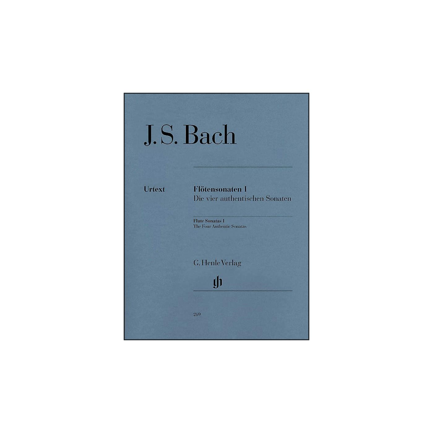 G. Henle Verlag Flute Sonatas - Volume I (The Four Authentic Sonatas - with Violoncello Part) By Bach thumbnail