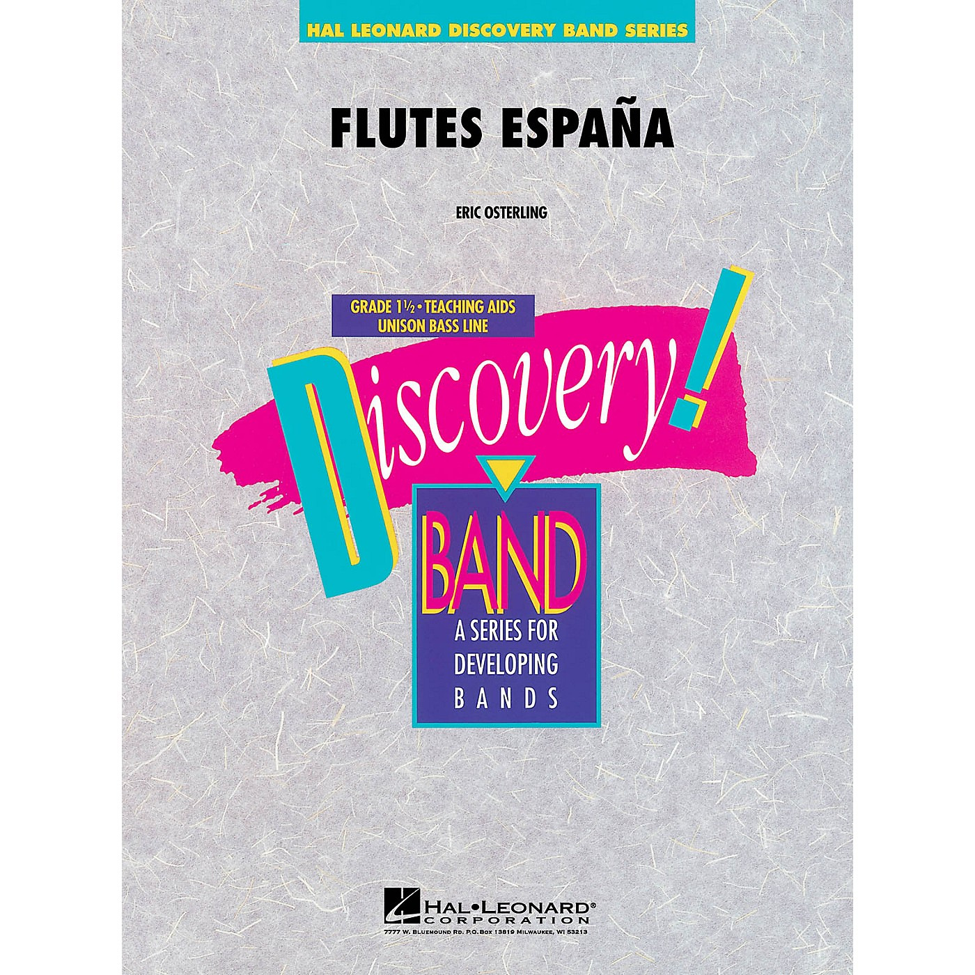 Hal Leonard Flutes España Concert Band Level 1.5 Composed by Eric Osterling thumbnail