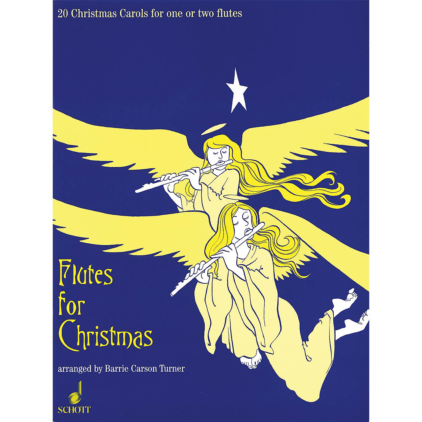 Schott Flutes for Christmas (20 Christmas Carols for One or Two Flutes) Schott Series thumbnail