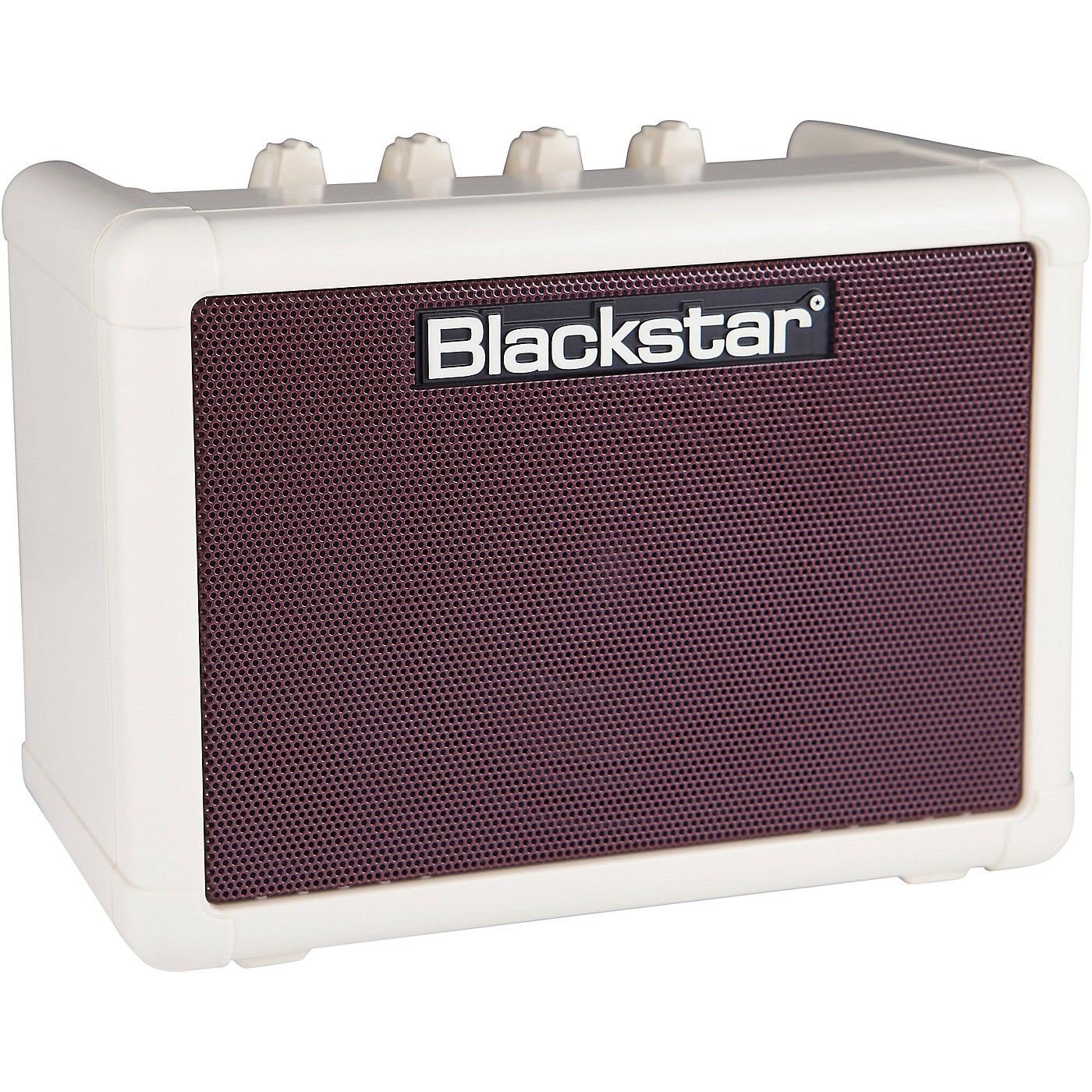 Blackstar Fly 3 3W 1x3 Guitar Combo Amp Vintage Cream Oxblood with Fly 103 3W Cab and Power Supply thumbnail