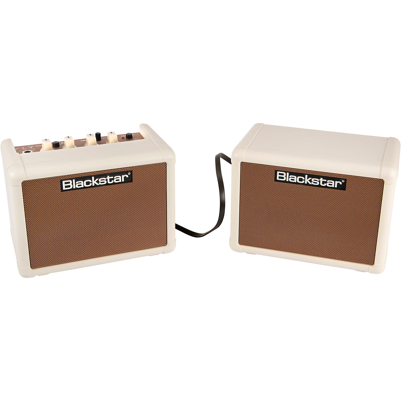 Blackstar Fly 3 Acoustic 3W 1x3 Acoustic Guitar Combo Amp and Fly 3 3W 1x3 Extension Speaker Cabinet thumbnail