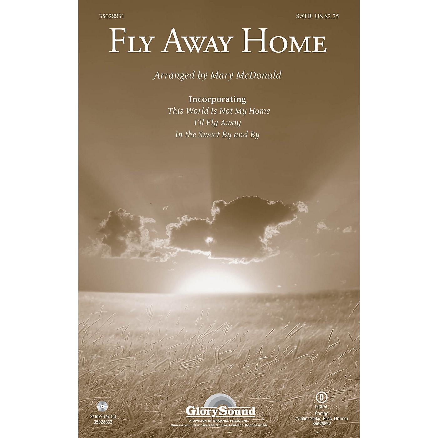 Shawnee Press Fly Away Home SATB arranged by Mary McDonald thumbnail