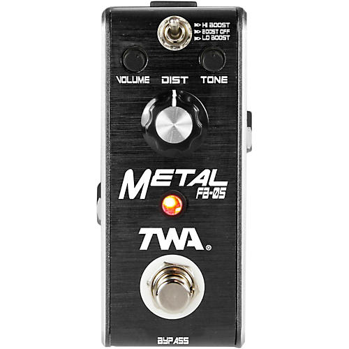 TWA Fly Boys Guitar Metal Pedal thumbnail
