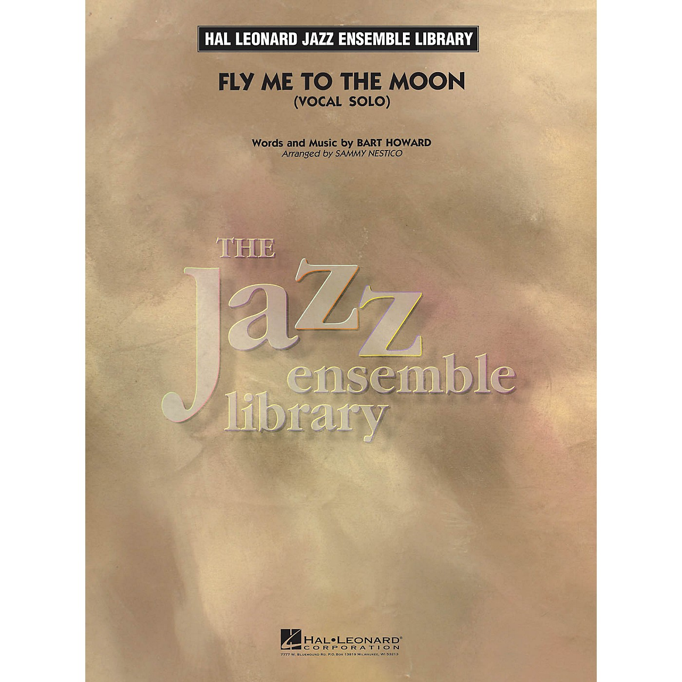 Hal Leonard Fly Me to the Moon (Key: Ab) Jazz Band Level 3-4 Composed by Bert Howard thumbnail