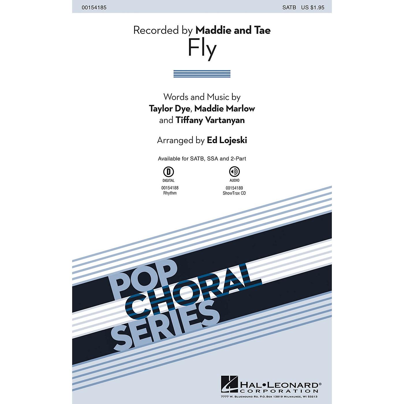Hal Leonard Fly SATB arranged by Ed Lojeski thumbnail