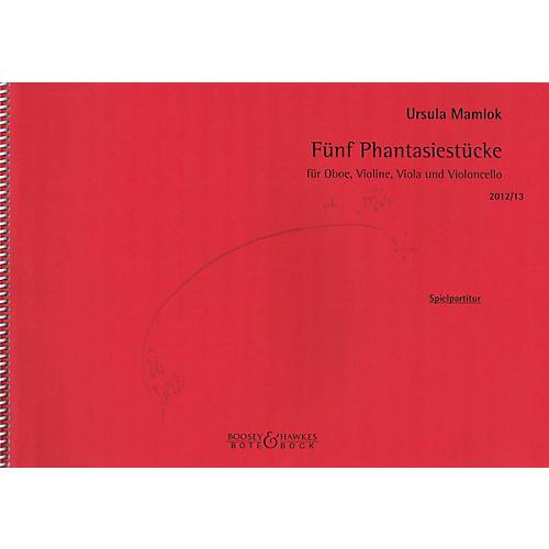 Bote & Bock Fünf Phantasiestücke Boosey & Hawkes Chamber Music Series Book by Ursula Mamlok thumbnail