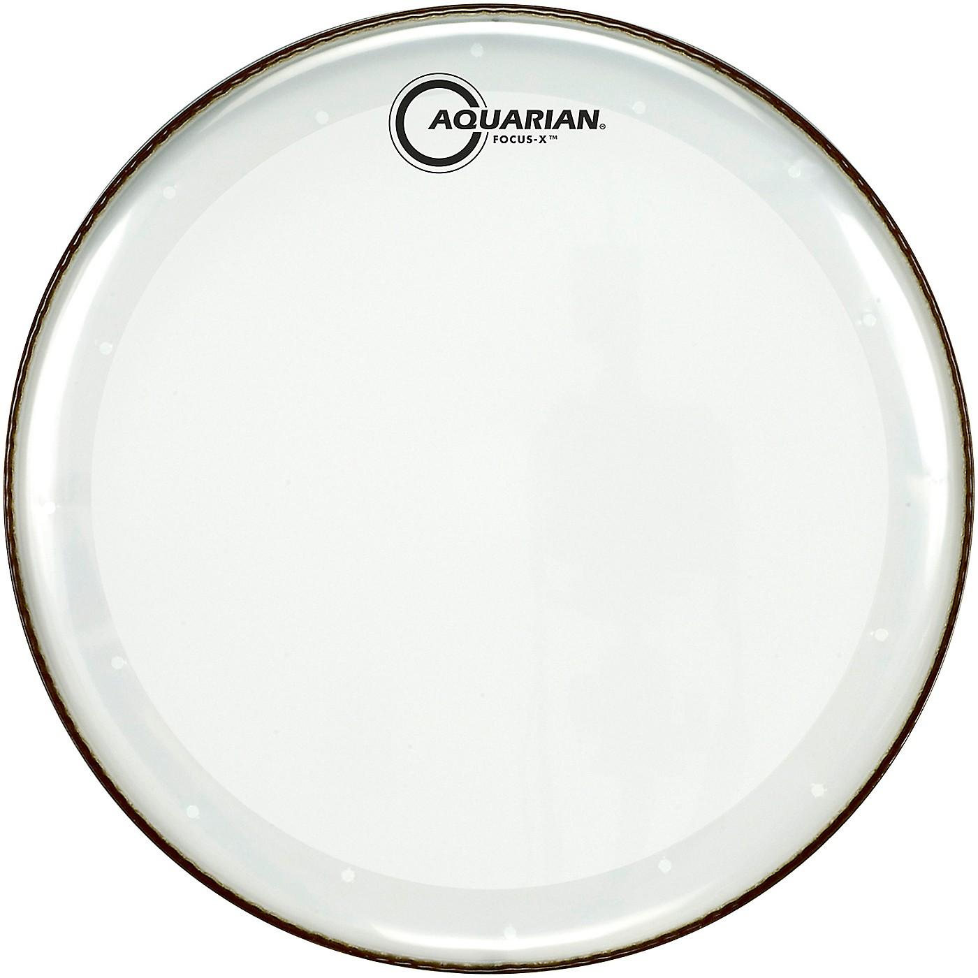 Aquarian Focus-X Clear Snare Drum Head thumbnail