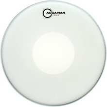 Aquarian Focus-X Coated With Power Dot Snare Drum Head