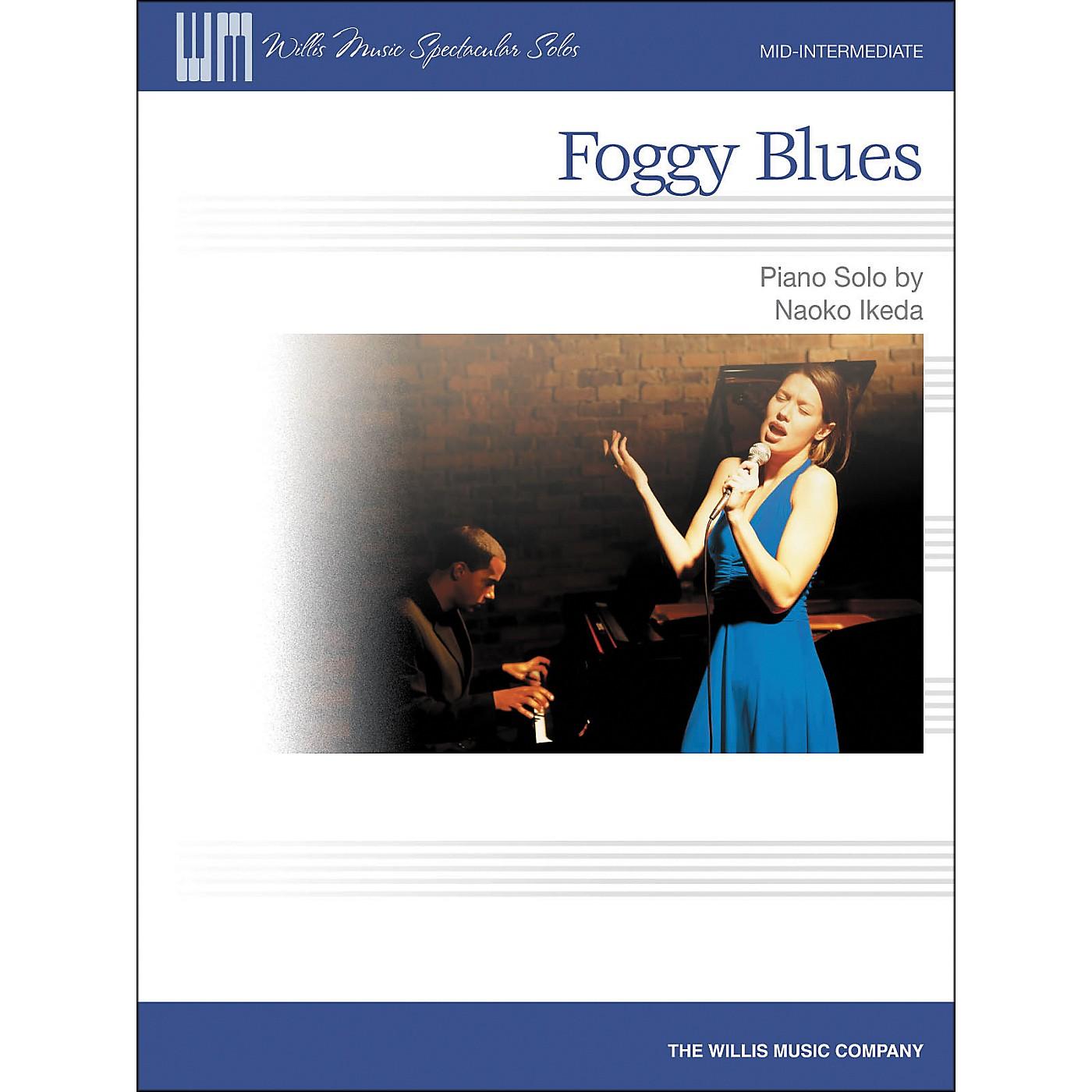 Willis Music Foggy Blues - Mid-Intermediate Piano Solo by Naoko Ikeda thumbnail