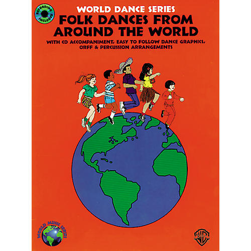 Alfred Folk Dances from Around the World Book/CD thumbnail