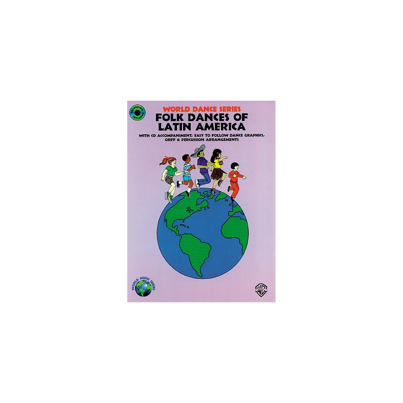 Alfred Folk Dances of Latin America Book/CD thumbnail