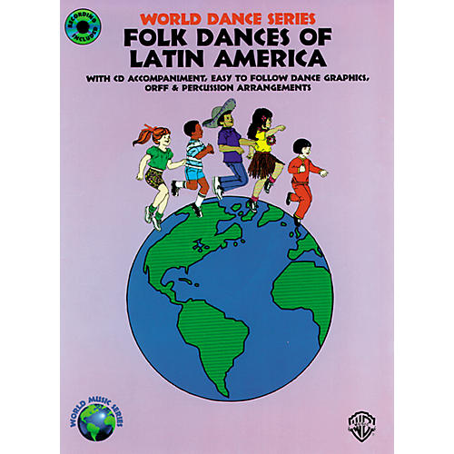 Alfred Folk Dances of Latin America Book/CD thumbnail