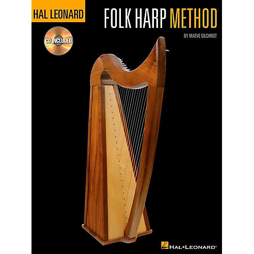 Hal Leonard Folk Harp Method Book/CD thumbnail