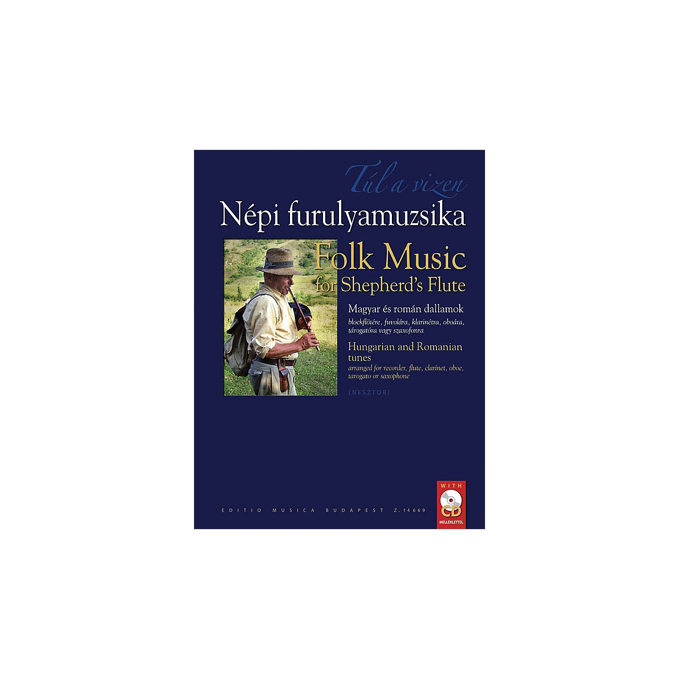Editio Musica Budapest Folk Music for Shepherd's Flute EMB Series thumbnail