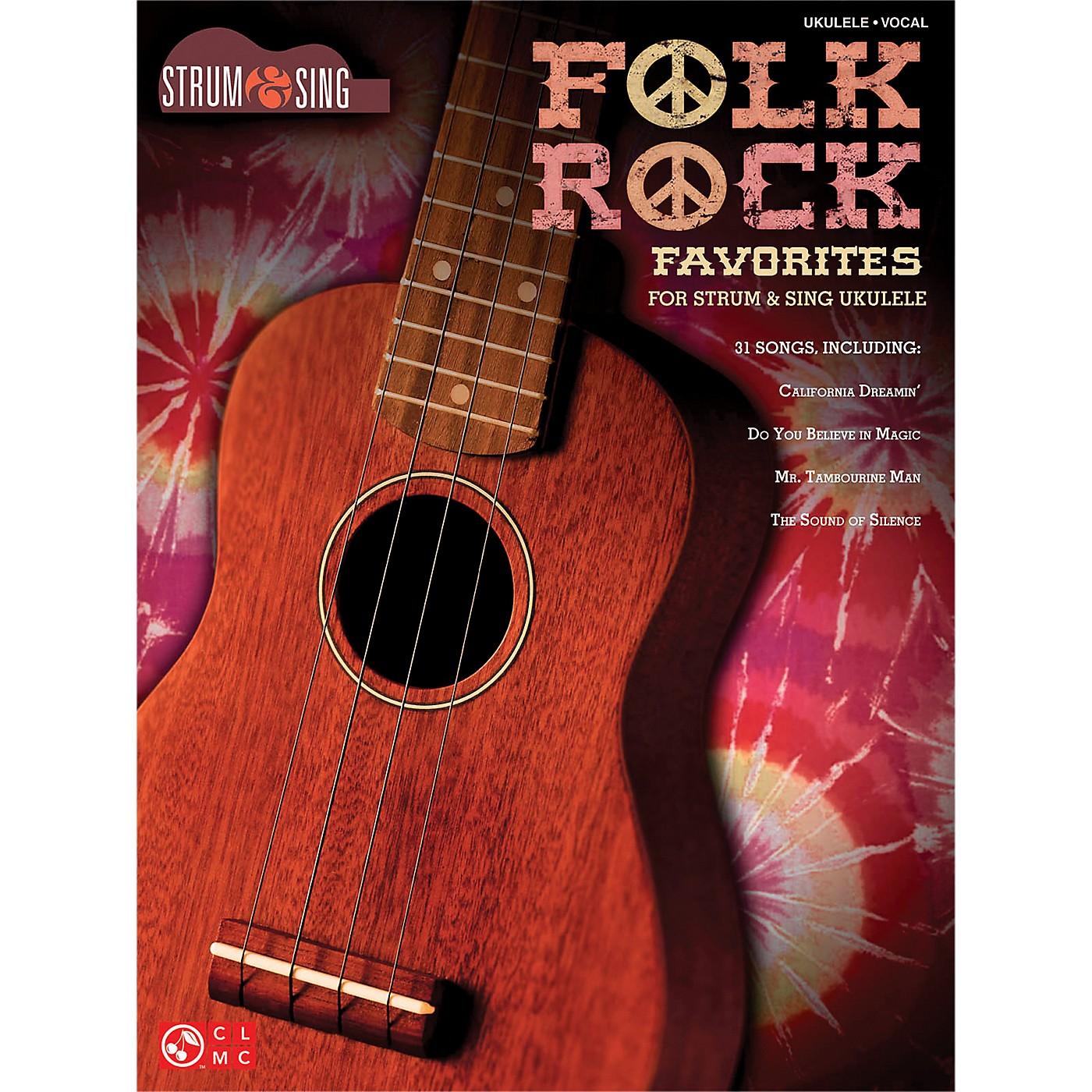 Cherry Lane Folk Rock Favorites for Ukulele - Strum & Sing Series thumbnail