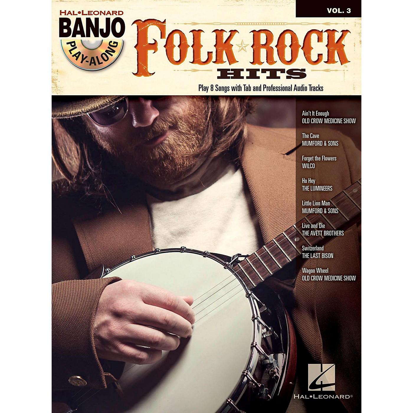 Hal Leonard Folk/Rock Hits Banjo Play-Along Volume 3 Book/CD thumbnail
