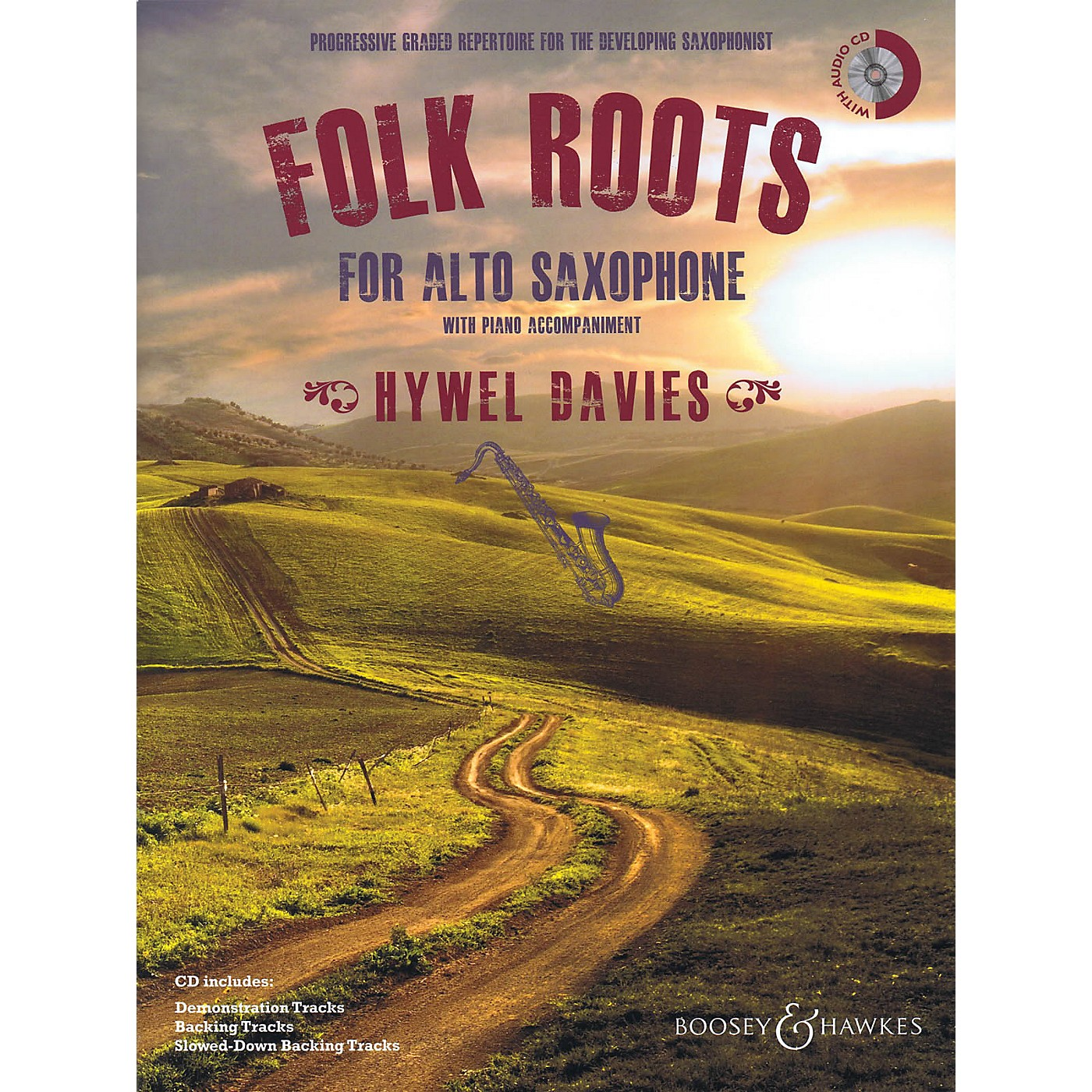 Boosey and Hawkes Folk Roots for Alto Saxophone (Book/CD) Boosey & Hawkes Miscellaneous Series Book with CD thumbnail