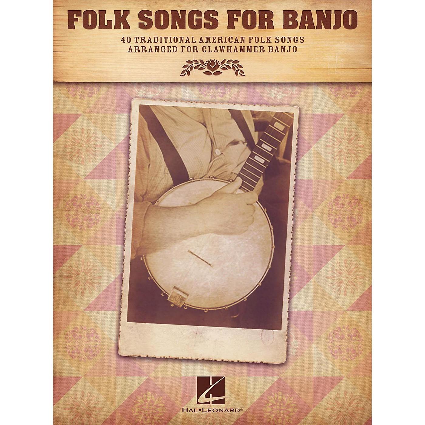 Hal Leonard Folk Songs For Banjo thumbnail