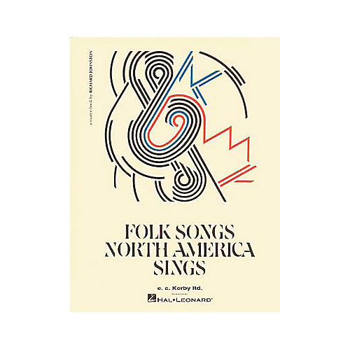E.C. Kerby Folk Songs North America Sings Kodaly Collection Book thumbnail