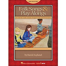 Hal Leonard Folk Songs & Play-Alongs Teacher Edition for Voice and Orff