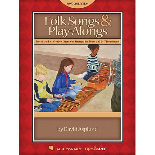 Hal Leonard Folk Songs & Play-Alongs Teacher Edition for Voice and Orff thumbnail