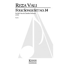 Lauren Keiser Music Publishing Folk Songs: Set No. 14 (Soprano Solo) LKM Music Series  by Reza Vali