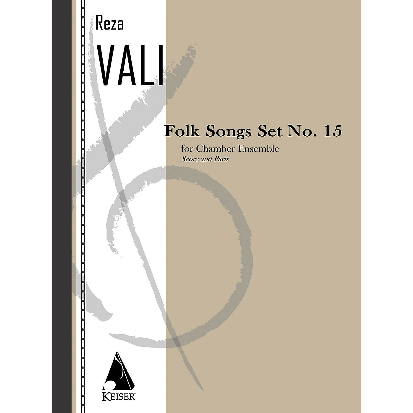 Lauren Keiser Music Publishing Folk Songs: Set No. 15 for 5 Players, Score and Parts LKM Music Series by Reza Vali thumbnail