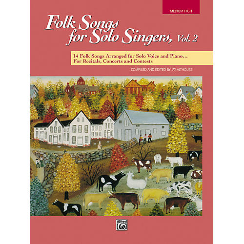 Alfred Folk Songs for Solo Singers Vol. 2 thumbnail