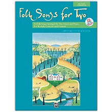 Alfred Folk Songs for Two Book & Acc. CD