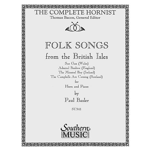 Southern Folk Songs from the  British Isles (Horn) Southern Music Series Composed by Paul Basler thumbnail
