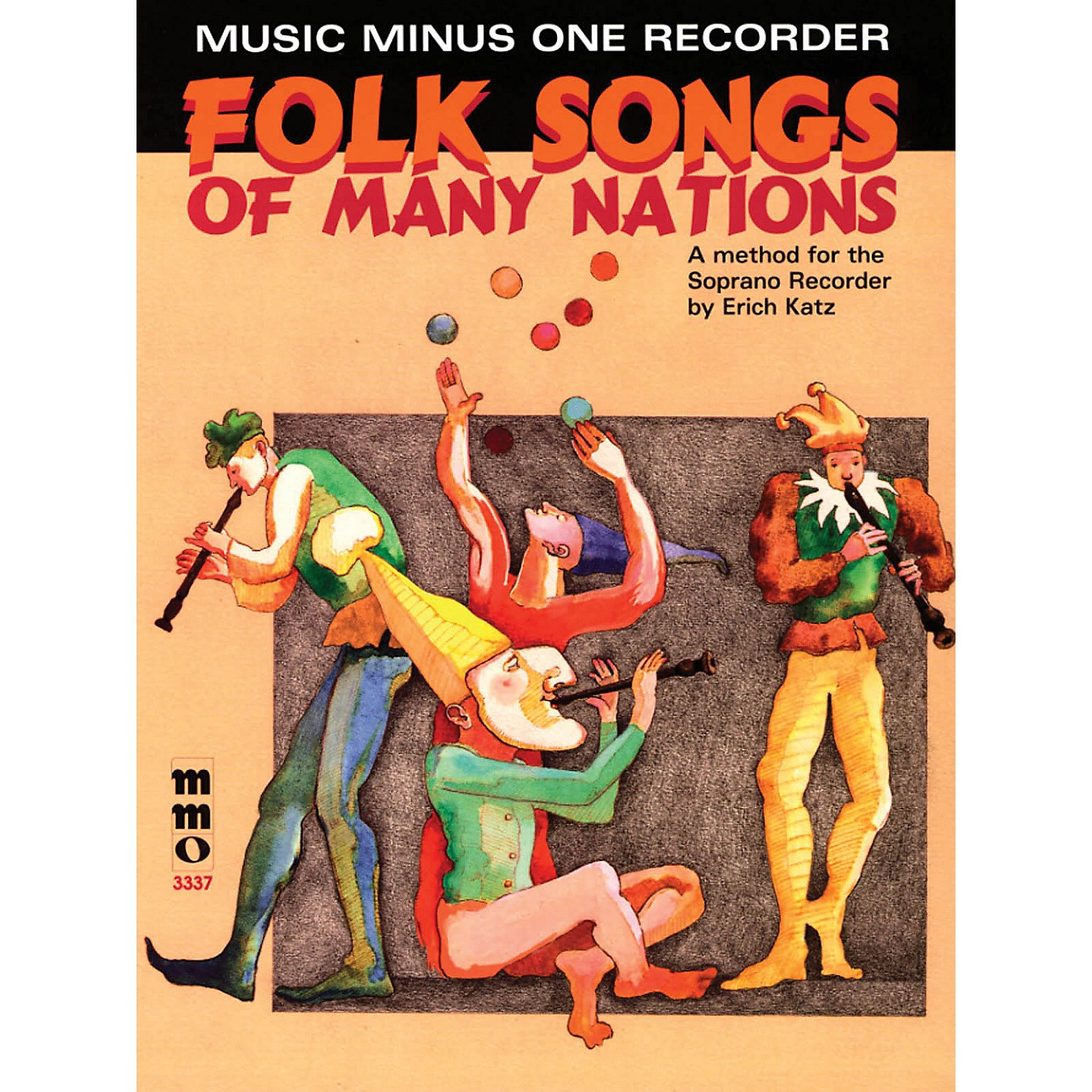 Music Minus One Folk Songs of Many Nations (Music Minus One Recorder) Music Minus One Series Softcover with CD thumbnail