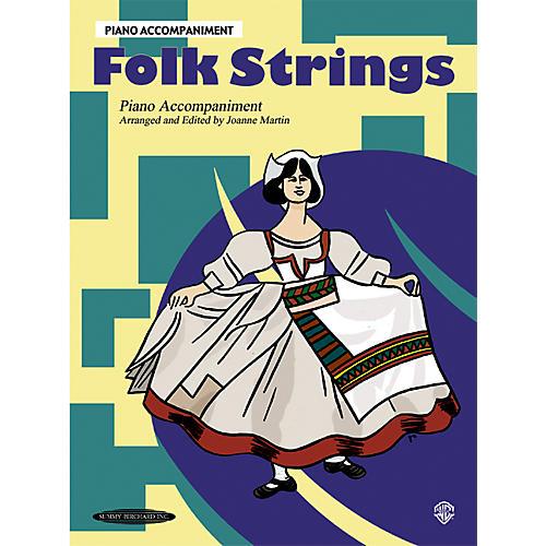 Alfred Folk Strings Piano Accompaniment (Book) thumbnail