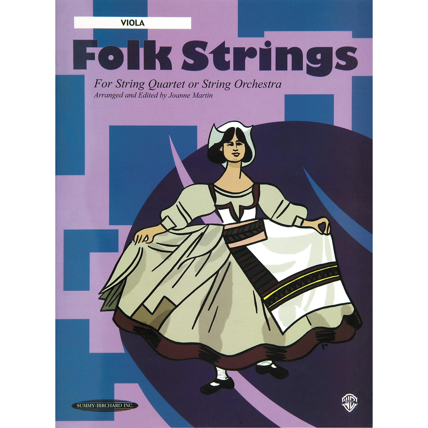 Alfred Folk Strings Viola (Book) thumbnail