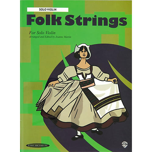 Alfred Folk Strings for Solo Violin (Book) thumbnail