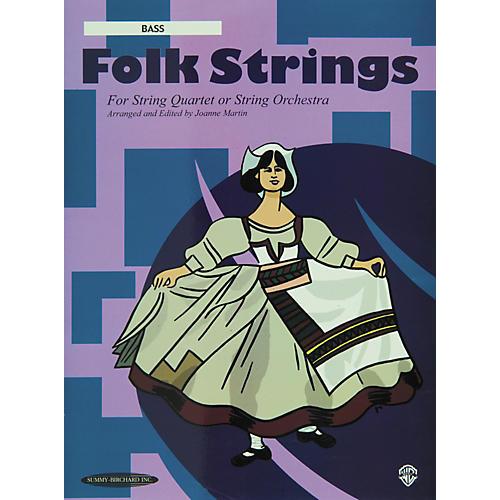 Summy-Birchard Folk Strings for String Quartet or String Orchestra Bass Part-thumbnail