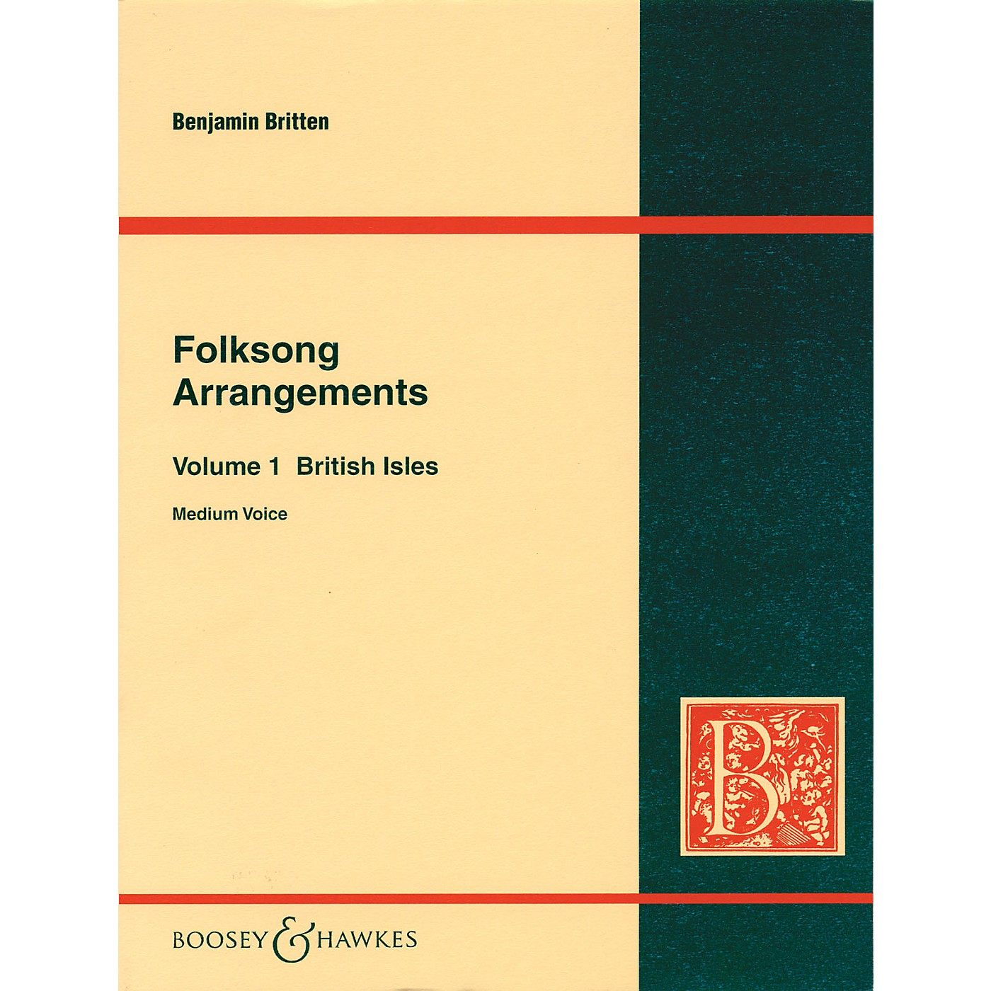 Boosey and Hawkes Folksong Arrangements - Volume 1: British Isles Boosey & Hawkes Voice Series  by Benjamin Britten thumbnail