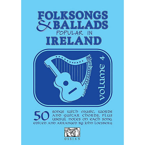 Music Sales Folksongs & Ballads Popular in Ireland (Volume 4) Music Sales America Series Softcover thumbnail