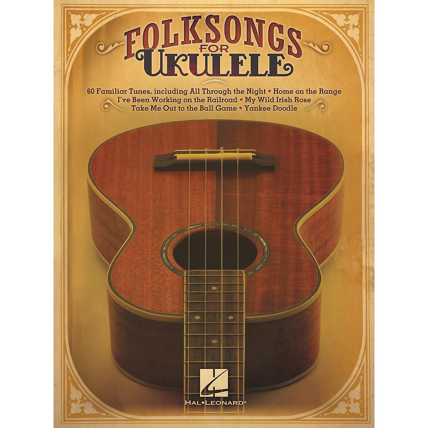 Hal Leonard Folksongs For Ukulele thumbnail