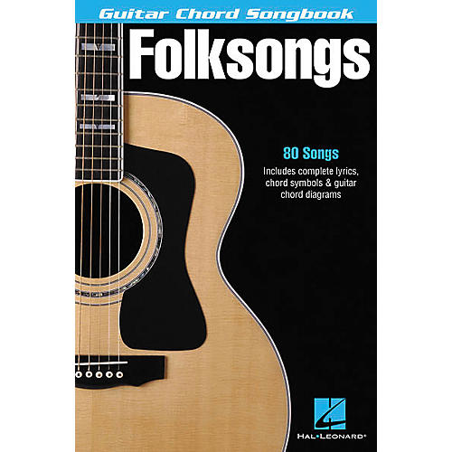 Folksongs Guitar Chord Songbook - WWBW