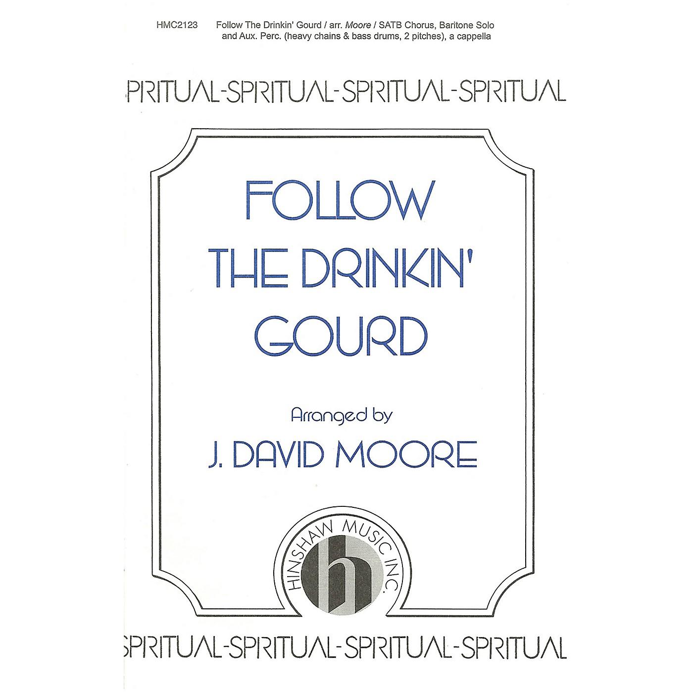 Hinshaw Music Follow the Drinkin' Gourd SATB arranged by J. David Moore thumbnail