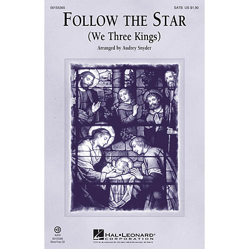 Hal Leonard Follow the Star SATB arranged by Audrey Snyder thumbnail