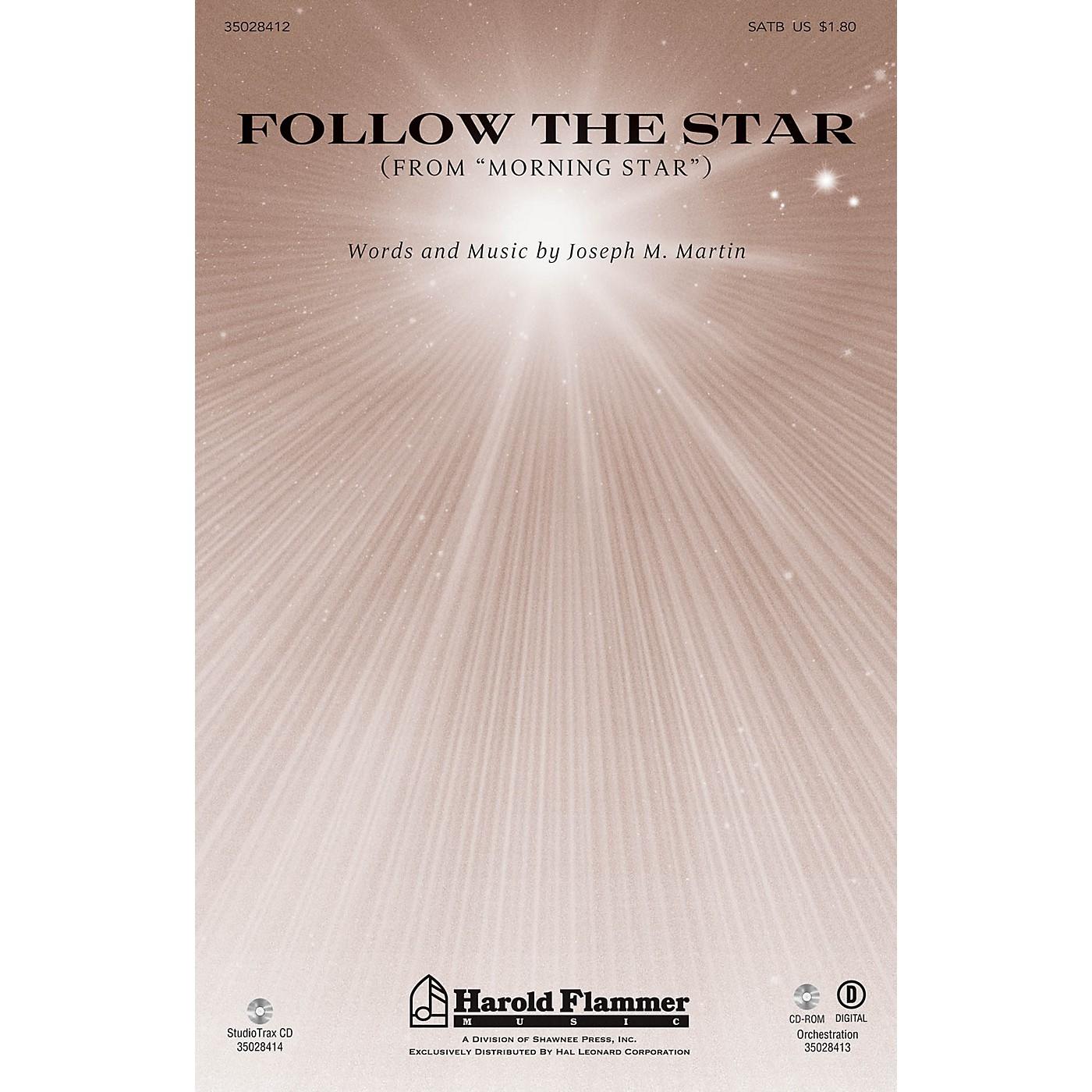 Shawnee Press Follow the Star (from Morning Star) Studiotrax CD Composed by Joseph M. Martin thumbnail