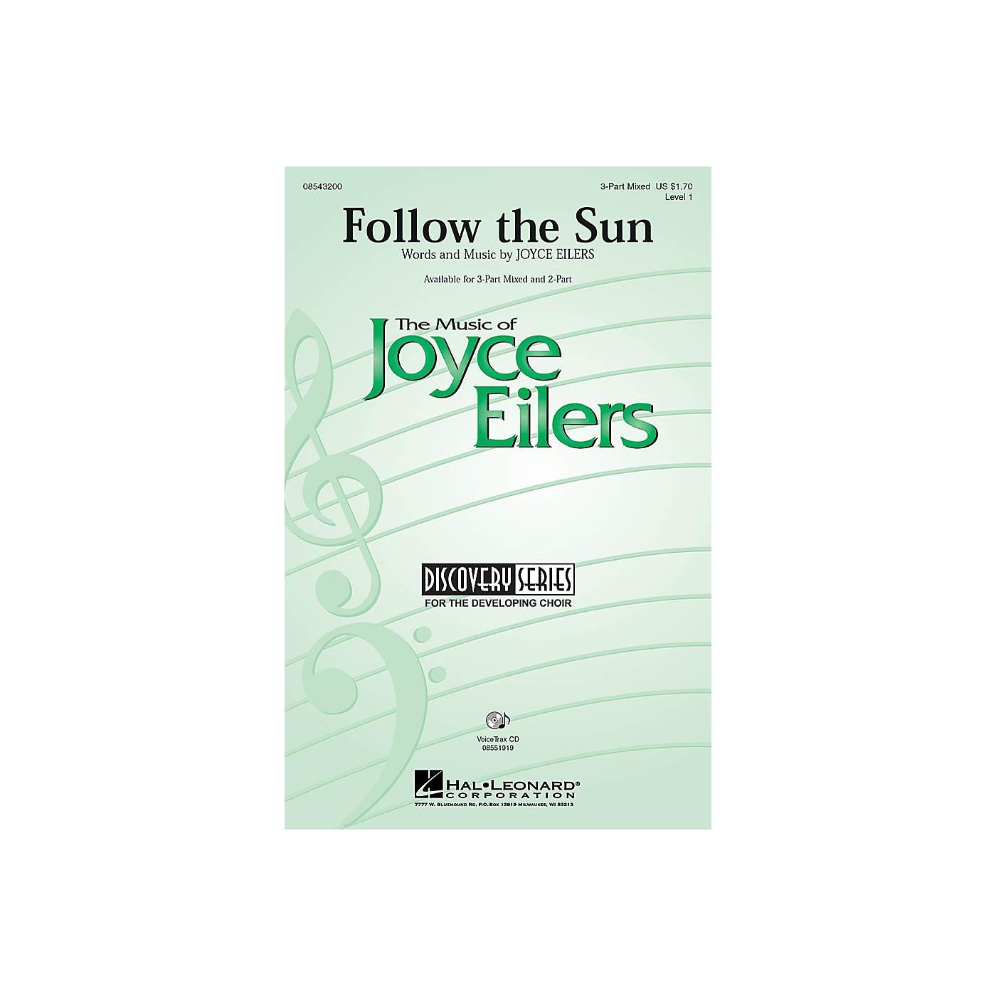 Hal Leonard Follow the Sun 3-Part Mixed composed by Joyce Eilers thumbnail