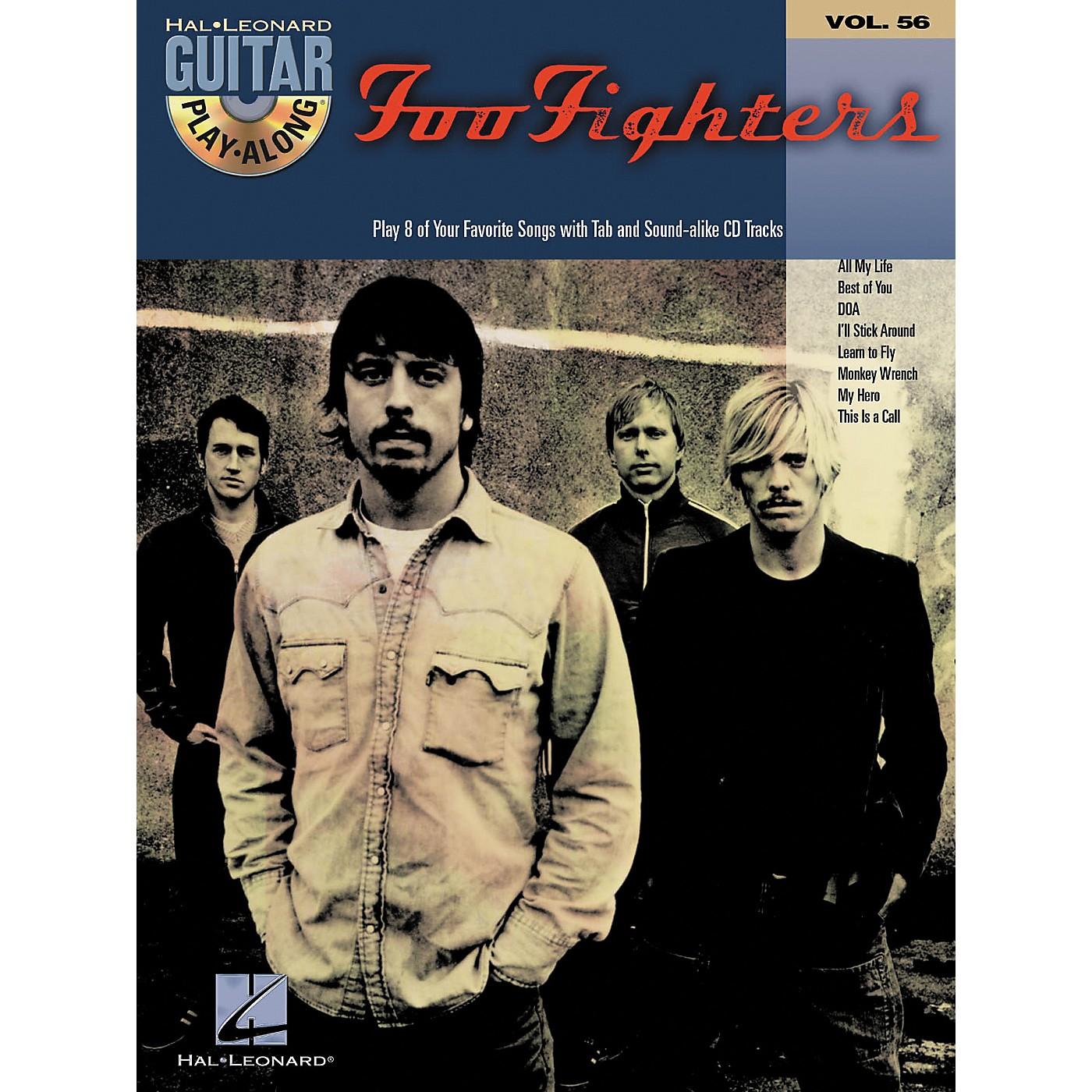 Hal Leonard Foo Fighters: Guitar Play-Along Series, Volume 56 (Book/CD) thumbnail
