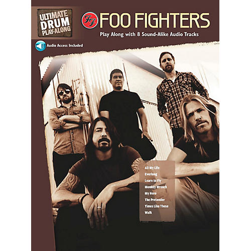 Alfred Foo Fighters Ultimate Play-Along Drum Book & 2 CDs thumbnail