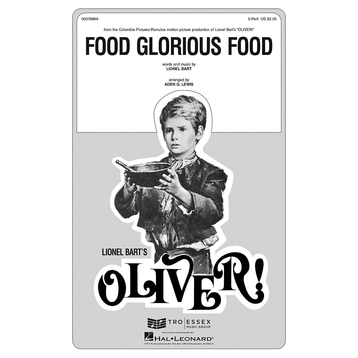 Hal Leonard Food Glorious Food ShowTrax CD thumbnail