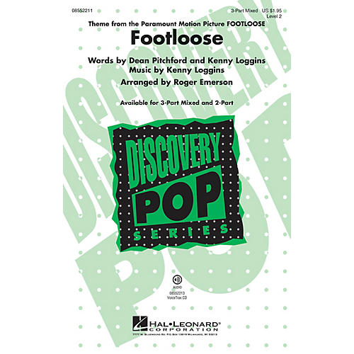 Hal Leonard Footloose VoiceTrax CD by Kenny Loggins Arranged by Roger Emerson thumbnail