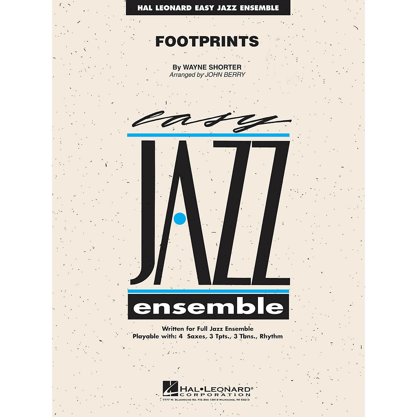 Hal Leonard Footprints Jazz Band Level 2 by Wayne Shorter Arranged by John Berry thumbnail